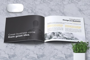 Thumbnail for Creative Brochure Template A5 Vol. 07