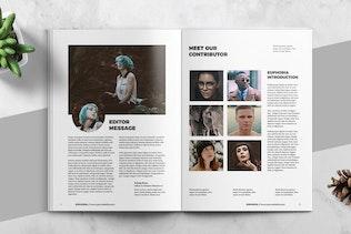 Thumbnail for EUPHORIA - Multipurpose Magazine Template