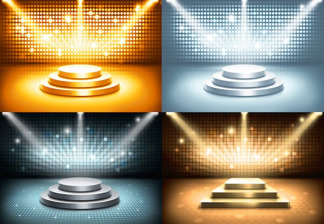 Stage and Lights Backgrounds - product preview 4