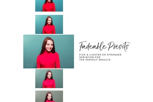 Thumbnail for 14 Pink Lightroom Presets and LUTs