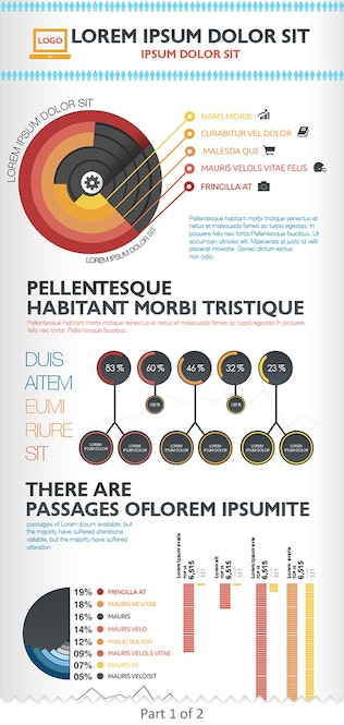 Thumbnail for Business Infographics Template