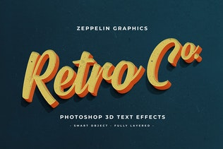 Thumbnail for Vintage Text Effects Vol.7