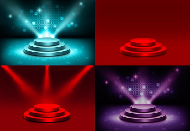 Stage and Lights Backgrounds - product preview 5