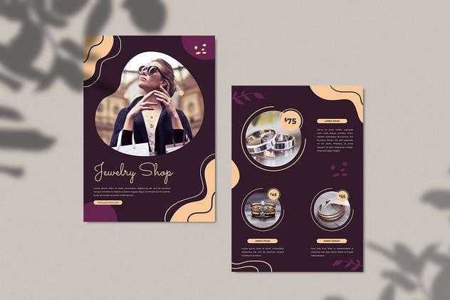 Jewellery Shop Flyer - product preview 3