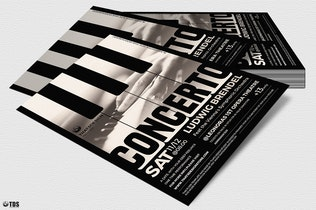 Thumbnail for Piano Concerto Flyer Template V1