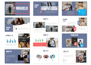 Thumbnail for Miguelo - Keynote Template