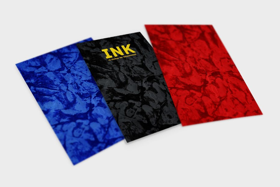 Grunge INK  Backgrounds - product preview 2