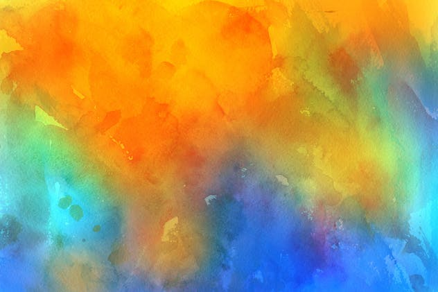 Handmade Watercolor Backgrounds Vol.17 - product preview 7