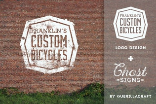 Thumbnail for Ghost Signs for Adobe Illustrator