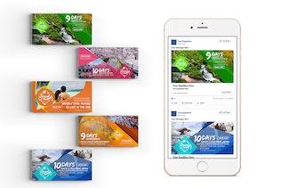 Thumbnail for 40 Facebook Post Banner-Travel
