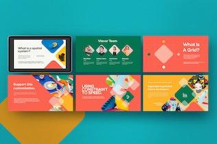 Thumbnail for Vlavor - Pastel Creative Powerpoint