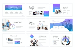 Thumbnail for Advertiser - Powerpoint Template