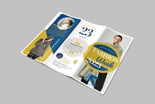 Fashion Trifold Broschüre