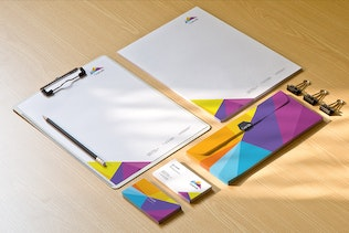 Thumbnail for Corporate Stationery Mockups PSD