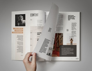 Thumbnail for Element | Magazine Template