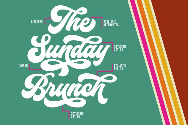 Funkies Bold Script Font - product preview 6