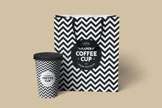 Paper Cup Mockups - product preview 2