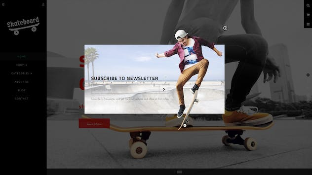 Skate board - Fullscreen Sports Shopify Theme - product preview 8