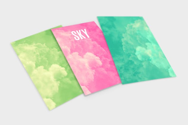 SKY Abstract Backgrounds - product preview 1