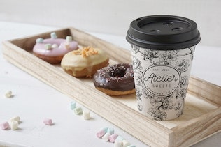 Download Coffee Doughnut Mockup By Amris On Envato Elements