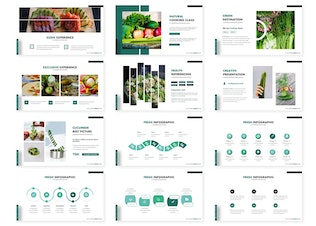 Thumbnail for Cucumber - Powerpoint Template