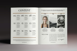 Thumbnail for Multipurpose Magazine 6 Indesign Template