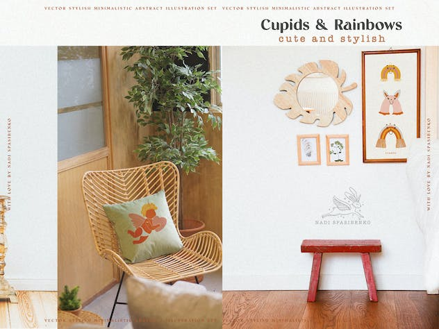 Cupids & Cute Rainbows - product preview 7