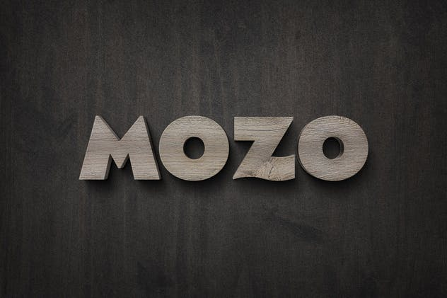 Wood Sign Text Effect - product preview 2