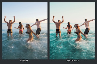 Thumbnail for 20 Summertime Lightroom Presets and LUTs