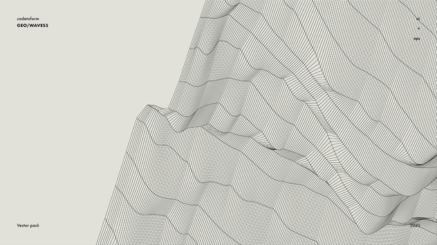 GEO_WAVES5 Vector Pack - product preview 10