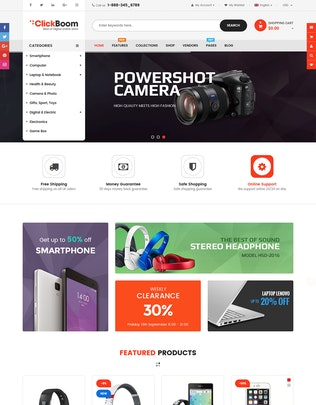 Thumbnail for ClickBoom - Responsive Multipurpose Shopify Theme