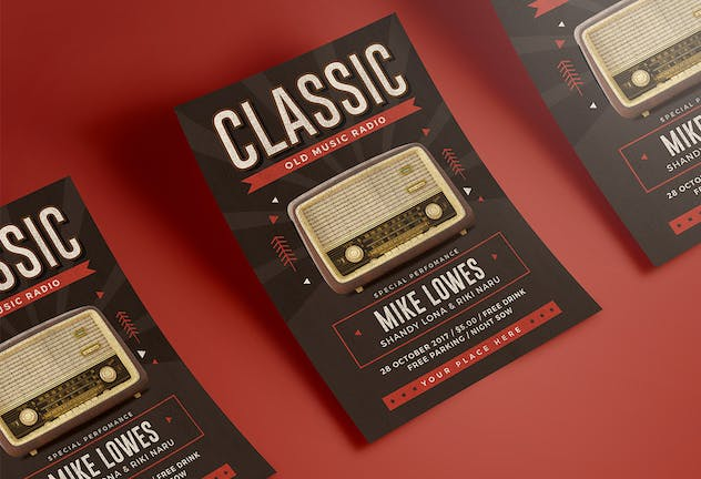 Classic Music Flyer - product preview 3