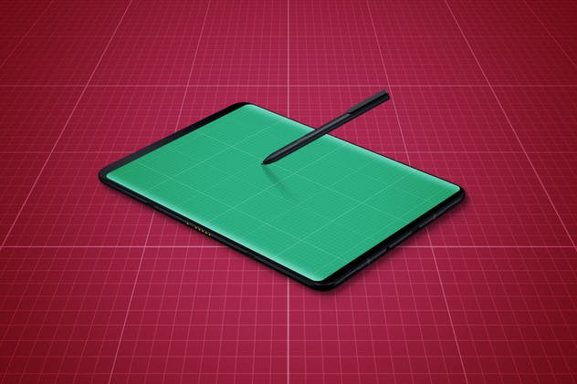 S9 Tablet Mockup - product preview 5