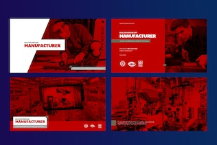 Thumbnail for Manufacturer Powerpoint Template