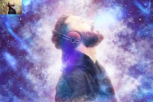 Thumbnail for Supernova CS4+ Photoshop Action
