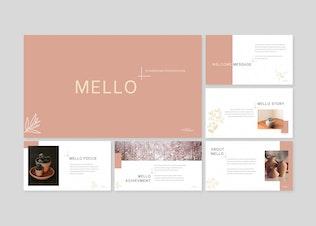 Thumbnail for Mello - Powerpoint/Google Slides/Keynote Template
