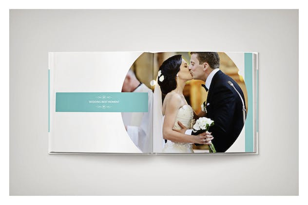 PSD - Minimalist Wedding Album - product preview 5