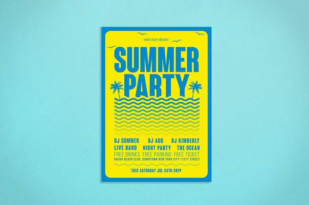 Summer Flyer - product preview 1