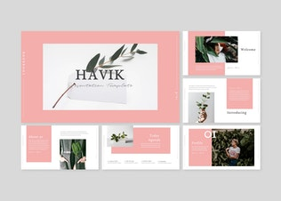 Thumbnail for Havik - Powerpoint Template