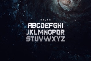 Thumbnail for Derelict Typeface