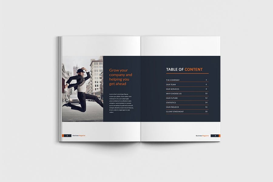 Workfice - A4 Business Brochure Template - product preview 1