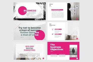 Thumbnail für BUSINESS - Mehrzweck-Powerpoint V147