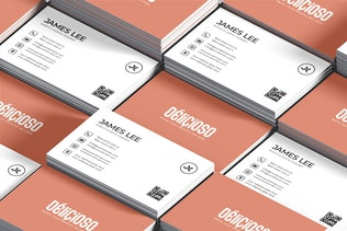 Thumbnail for Minimal Creative Business Card Template
