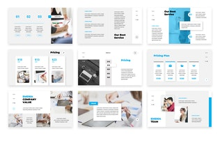 Thumbnail for Emenia Presentation Template Google Slides