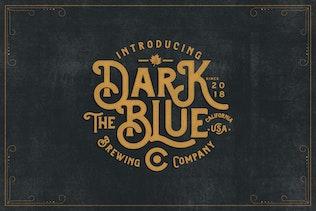 Thumbnail for Brewski - Brewery Typeface