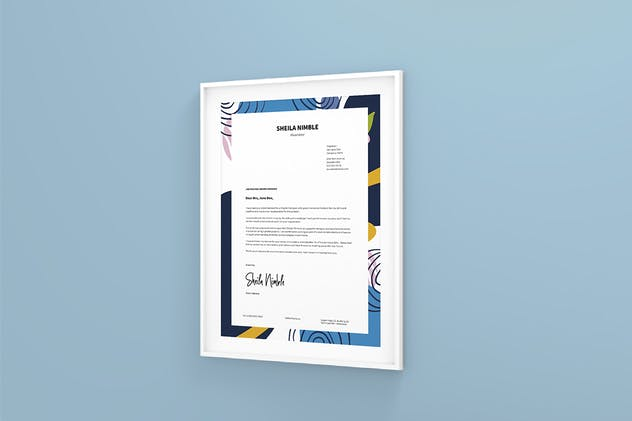 Creative Resume CV Design Template - product preview 1