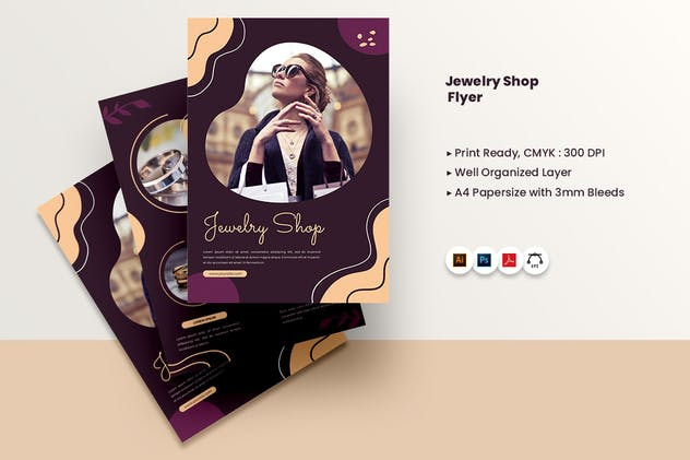 Jewellery Shop Flyer - product preview 2