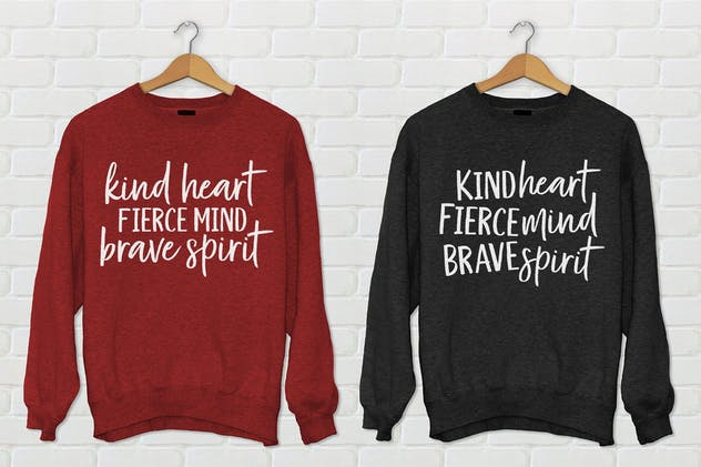 Kind Heart Font Duo - product preview 6