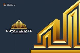 Thumbnail for Royal Estate - Logo Template