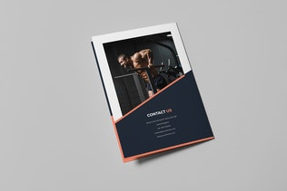 Brochure – Gym Bi-Fold